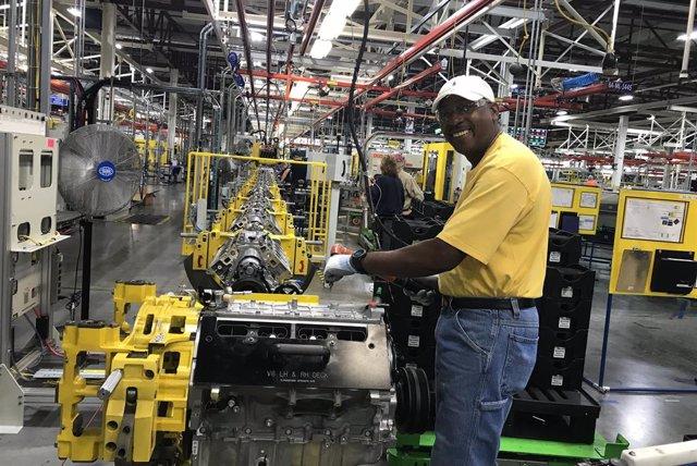 Planta de Spring Hill (Estados Unidos) de General Motors.