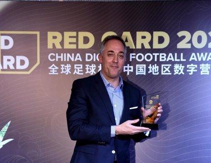 LaLiga, premiada en los Red Cars Awards de China por el trabajo con la cantera