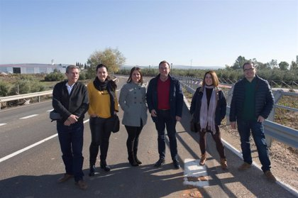La Diputación interviene en la CO-3102 y mejora el ramal de acceso a Algallarín