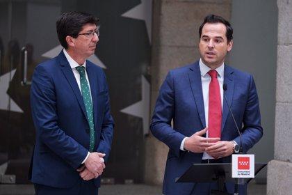 Aguado y Marín se reúnen en Madrid y reclaman a Sánchez una hoja de ruta para hablar sobre financiación