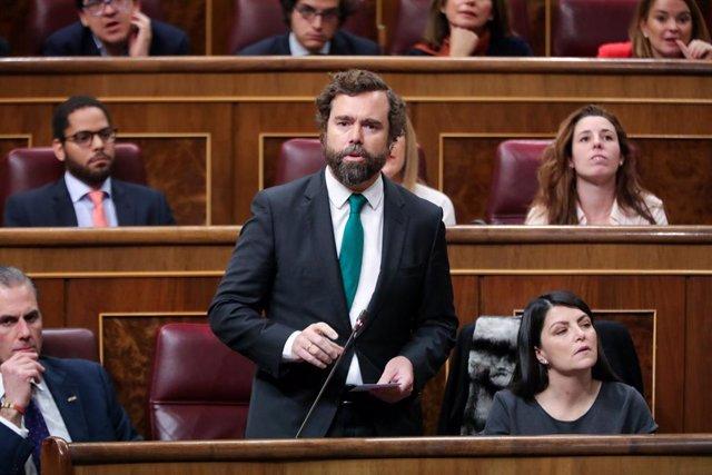 El portaveu de Vox al Congrés dels Diputats, Iván Espinosa de los Monteros, en una imatge d'arxiu.