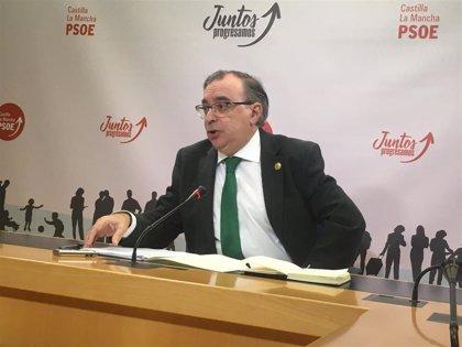 """PSOE lamenta que el PP """"se esconda"""" detrás de debates nacionales en las Cortes para no """"dar la cara"""" y hablar de C-LM"""