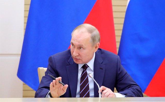 Libia.- Putin confirma su asistencia a la conferencia sobre Libia en Berlín