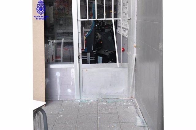 Establecimiento de hostelería robado en Torrelavega
