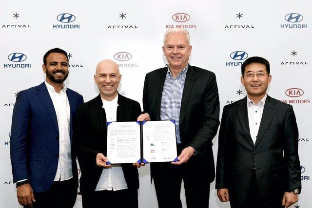 Inversión de Hyundai en Arrival