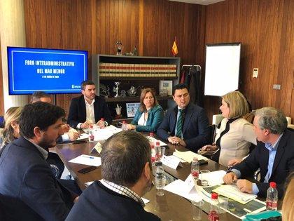 Agricultura.- El Gobierno regional inicia los trabajos del banco de especies del Mar Menor para conservar la fauna