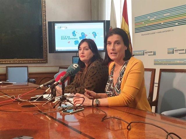 La alcaldesa de Santander, Gema Igual, presenta el concurso