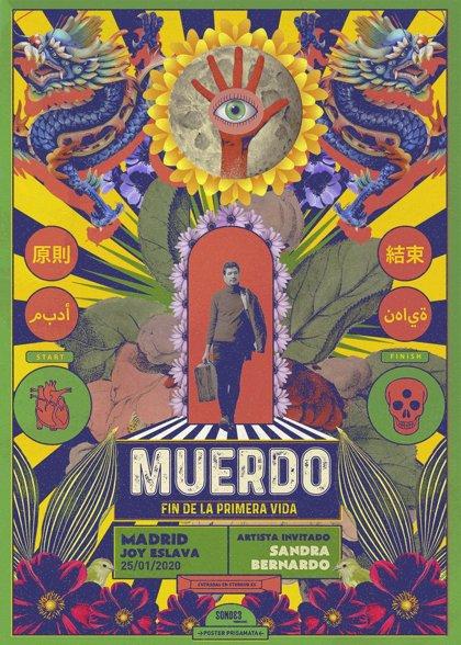 Sorteamos entradas para el concierto de Muerdo en Madrid