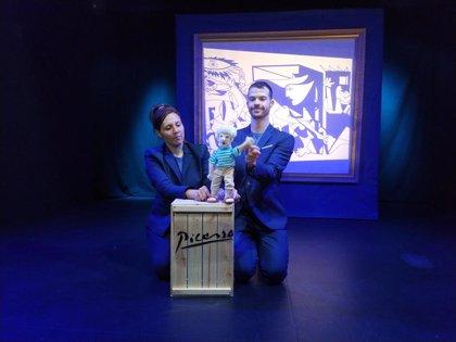 Llega al Teatro Cánovas de Málaga 'Museum', un montaje en clave de género que incluye obras de arte de grandes maestros