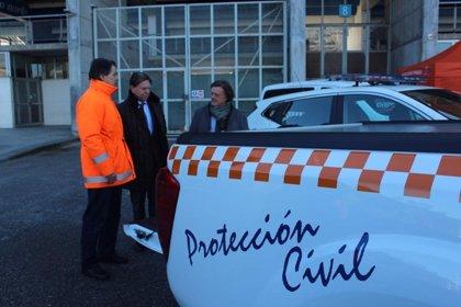 Protección Civil presenta sus nuevos vehículos