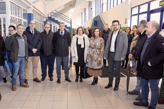 Zuloaga y Álvarez han inaigurado hoy la VII Lanzadera de Empleo con la presencia de varios alcaldes