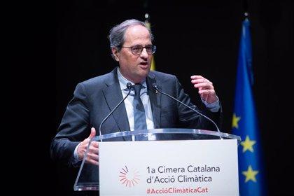 """Torra quiere que Catalunya lidere la acción climática ante el """"SOS"""" de la naturaleza"""