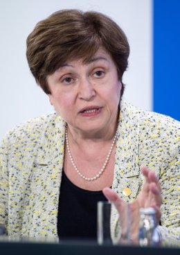 FMI.- Georgieva alerta de los paralelismos actuales con los años previos al 'cra