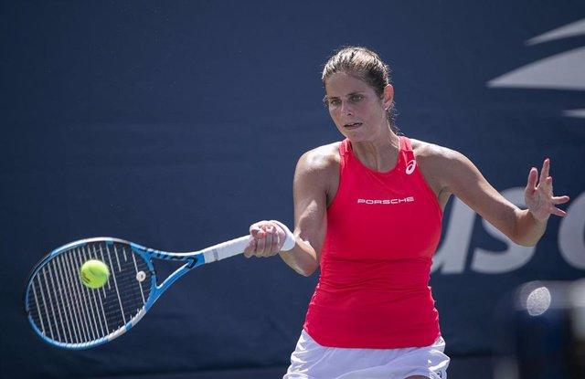 La tenista alemana Julia Grges