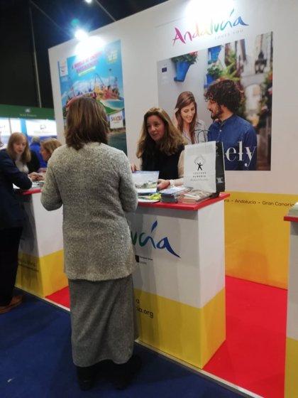 'Costa de Almería' acerca a la Feria Holiday World de Belfast su oferta turística