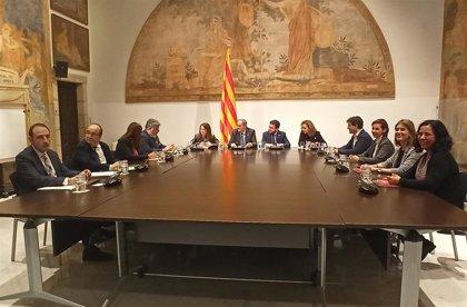 Comienza la reunión de Torra con partidos catalanes sin Cs, la CUP ni PP