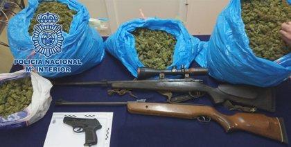Detenidos en Córdoba cuatro hombres en diferentes operativos con el tráfico de armas