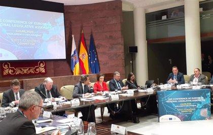 Marcos Líndez aboga porque la Calre impulse retos como la lucha contra la despoblación o la transición energética