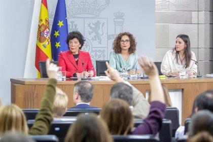 El PSOE promociona en sus redes las voces del Gobierno de coalición, pero Podemos sólo vende a su ministra