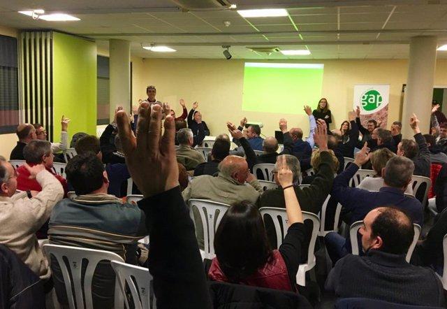 Asamblea de socios de GAP Cooperativa de Juneda
