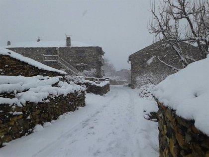 Aviso amarillo por nevadas en las provincias de Zaragoza y Huesca este sábado