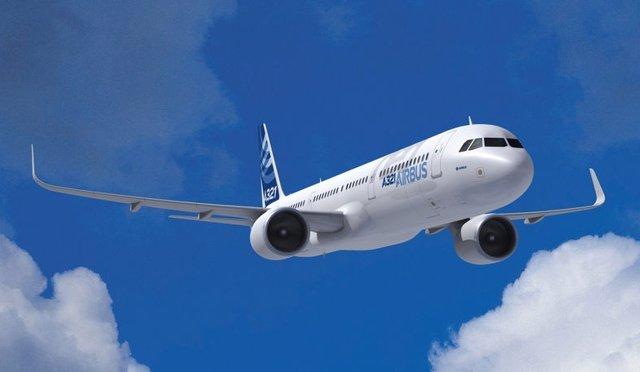 Europa/China.- Airbus vende 40 aeronaves A321neo al grupo chino CALC por valor d
