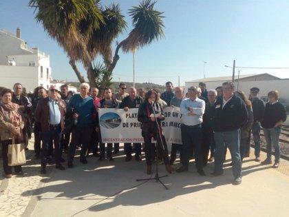 Nueva protesta en Pedrera (Sevilla) por la variante y los convoyes regionales y los manifestantes anuncian un encierro