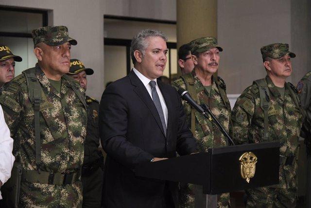 """Colombia.- Duque insiste en su llamamiento al ELN para alcanzar una """"paz creíble"""
