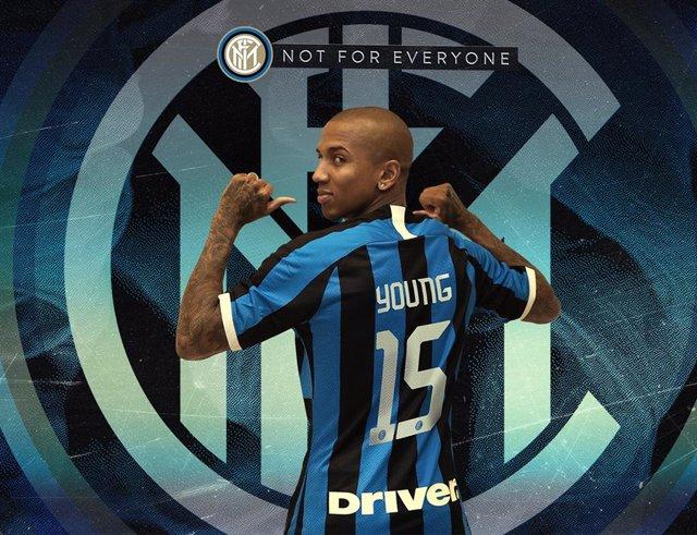 Ashley Young, nuevo jugador del Inter de Milán