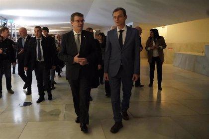 El ministro de Ciencia e Innovación visita la Universidad del País Vasco