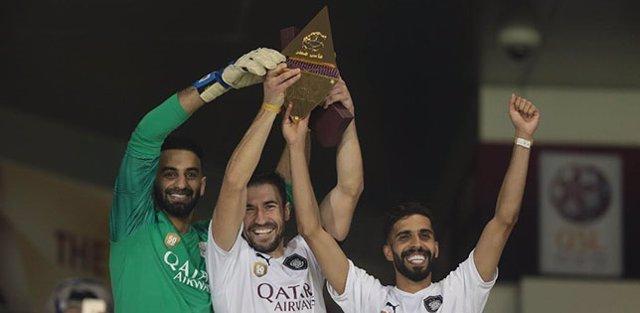 Fútbol.- El Al Sadd de Xavi, campeón de la Copa de Catar
