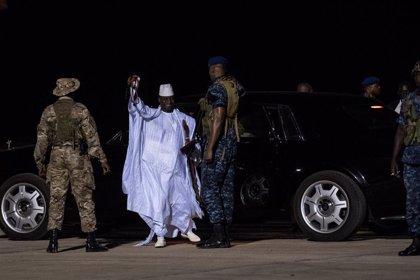 Víctimas de la represión de Yahya Jamé muestran su malestar por la manifestación a favor de su regreso a Gambia