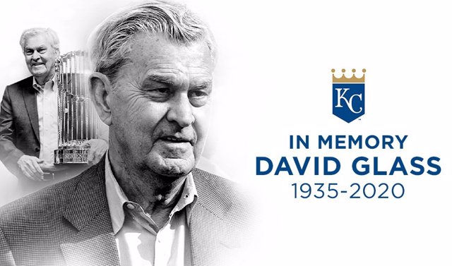 David Glass, antiguo propietario y presidente de los Kansas City Royals.