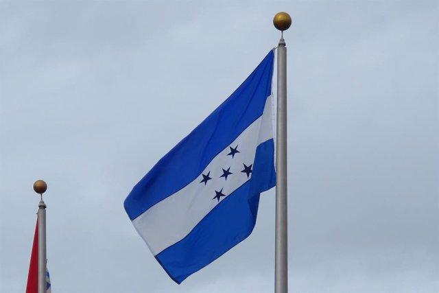 Bandera de Honduras.
