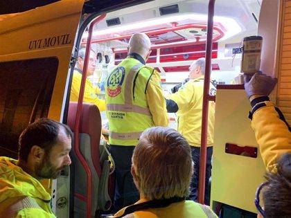Un joven de 24 años, herido muy grave tras sufrir un atropello en Castellana