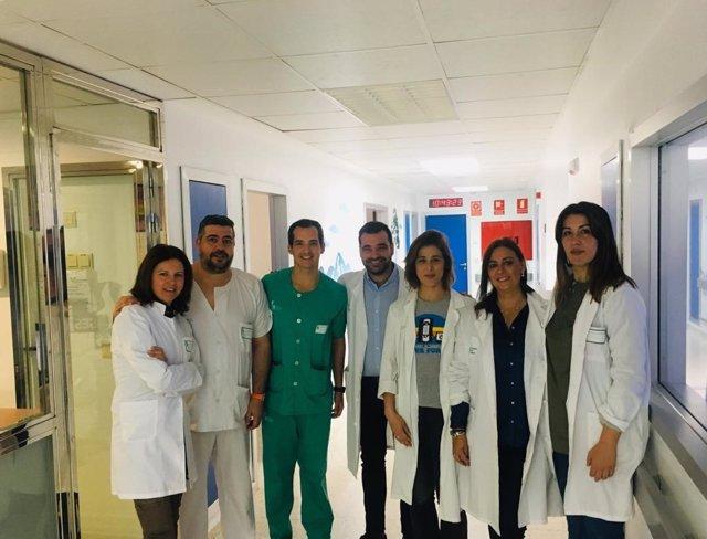 Equipo de Terapia Electroconvulsiva del Hospital de Mérida