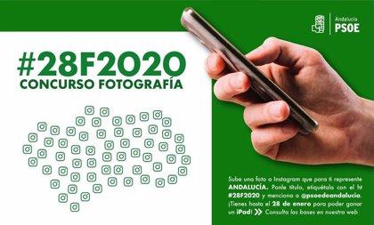 PSOE-A lanza un concurso de dibujos escolares y de fotografía en Instagram por el Día de Andalucía