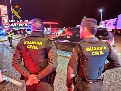 Tres detenidos en Azuqueca por robo de cable de cobre de la Autovía del Noroeste