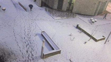 Activado el aviso por nieve por encima de los 400 metros este domingo en Euskadi