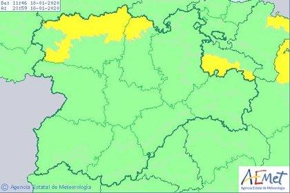 Activada la fase de alerta por nieve en Burgos, León, Palencia y Soria