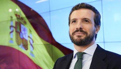 """Casado pregunta a Sánchez """"cómo puede tolerar la agresión a España"""" de Junqueras """"a cambio de seguir en el poder"""""""