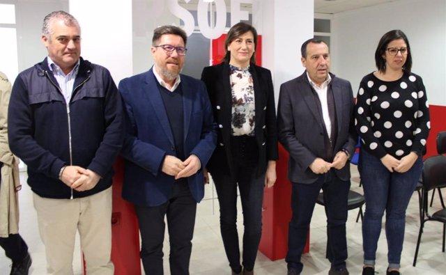 Encuentro con representantes y alcaldes socialistas de las distintas agrupaciones de la comarca de Ronda.