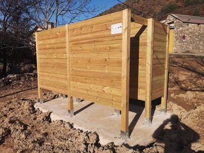AECT 'Espacio Portalet' inaugura un cambiador para barranquistas en Orós Bajo