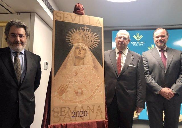 Presentación del cartel de la Semana Santa de Sevilla 2020