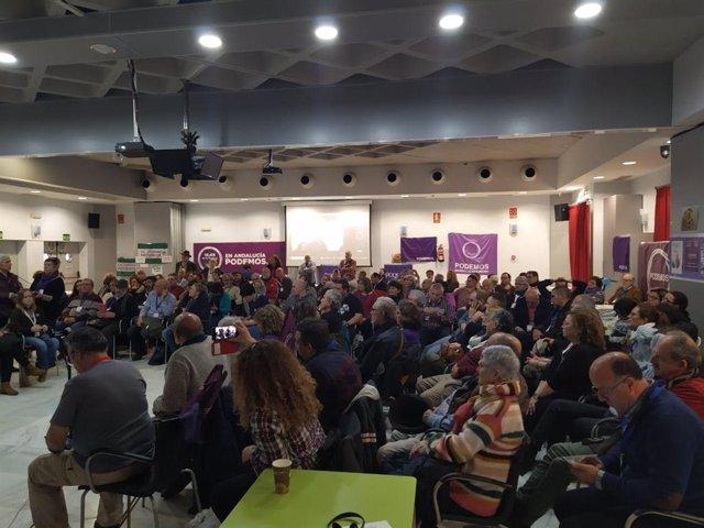 Reunión de Somos Podemos Andalucía este sábado en Córdoba