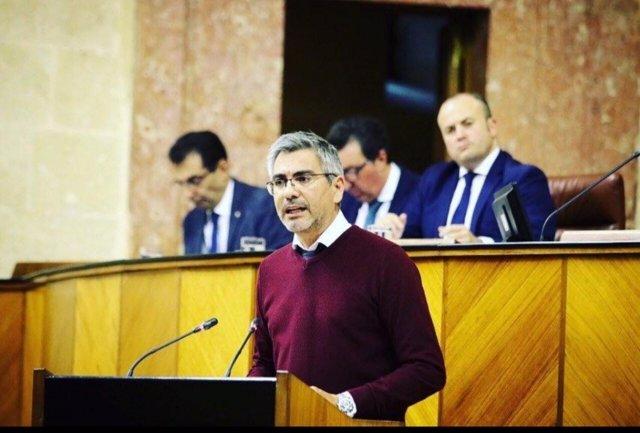 El parlamentario de Cs Emiliano Pozuelo