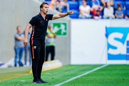 """Lopetegui, sobre el gol anulado: """"No acierto a adivinar lo que ha podido ver el árbitro"""""""