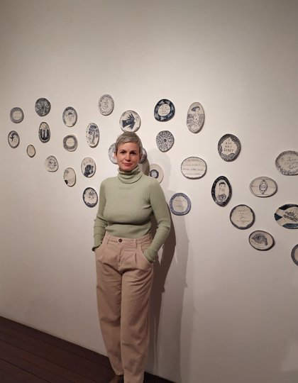 El Centro Fundación Caja Rioja-Bankia Gran Vía acoge la exposición de cerámica 'Amores platónicos'