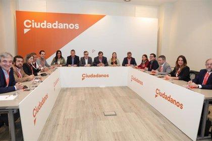 """Un sector crítico de Ciudadanos ve """"continuistas"""" los Estatutos propuestos y presentará una enmienda a la totalidad"""