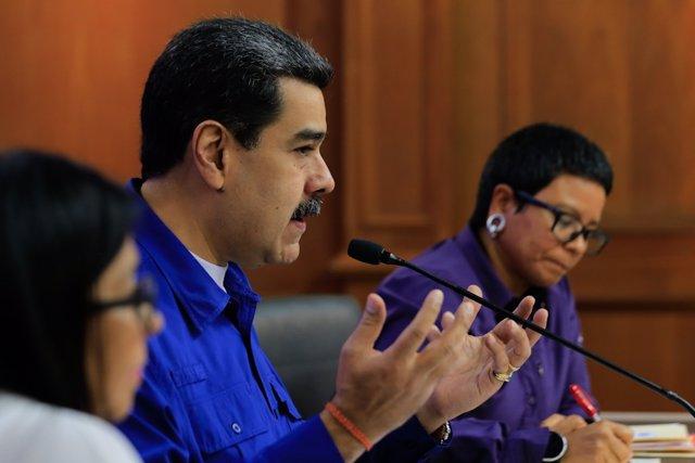 Imagen del presidente de Venezuela, Nicolás Maduro.